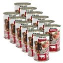 New BEWI DOG konzerv – Marhaaprólék, 12 x 400g