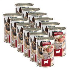 New BEWI DOG konzerv – Bárány, 12 x 400g