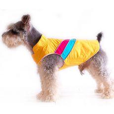 Mellény kutyának - sárga, XS