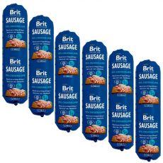 BRIT Sausage Chicken & Lamb 6 x 800 g