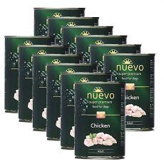NUEVO DOG Adult Chicken konzerv 12 x 400 g