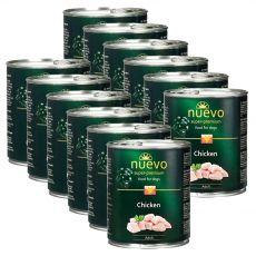 NUEVO DOG Adult Chicken konzerv 12 x 800 g