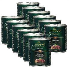 NUEVO DOG Adult Venison Menue konzerv 12 x 800 g