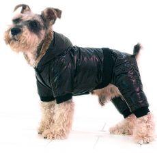 Dzseki kutyának - vízhatlan, fekete, XS