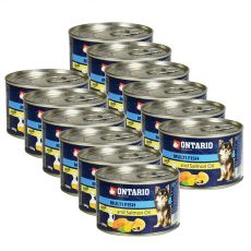 ONTARIO konzerv Multi Fish lazacolajjal – 12 x 200g