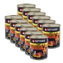 ONTARIO kutyakonzerv, marha, burgonya és olaj - 12 x 800g