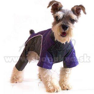 Kutya overál - lila-fekete, XS