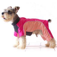 Overál kutyusok számára - rózsaszín-barack, L