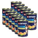ONTARIO konzerv Multi Fish lazacolajjal– 12 x 400g