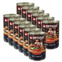ONTARIO Culinary Calf Ragout with Duck konzerv 12 x 400 g
