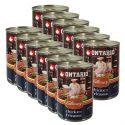ONTARIO Culinary Chicken Fricasse konzerv 12 x 400 g