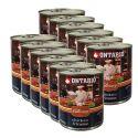 ONTARIO Culinary Chicken Fricasse konzerv 12 x 800 g