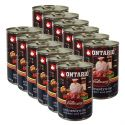 ONTARIO Culinary Minestrone Chicken and Pork konzerv 12 x 400 g