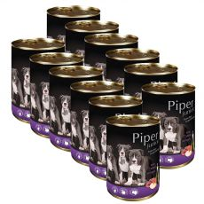 Can Piper Junior veal meat and apple konzerv 12 x 400 g
