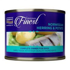 Fish4dogs Hering Norvégiából és burgonya 185 g