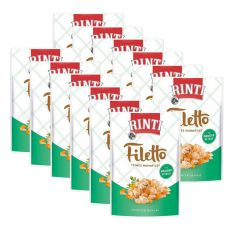 RINTI Filetto alutasak csirke + zöldség, 12 x 100g