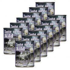 TASTE OF THE WILD Sierra Mountain Canine - konzerv, 12 x 390g