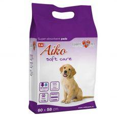 AIKO Soft Care matracok kutyák részére 14 db - 60 x 58 cm