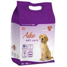 AIKO Soft Care matracok kutyák részére 30 db - 60 x 58 cm