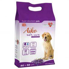 AIKO Soft Care levendula matrac kutyák részére 10 db - 60 x 60 cm