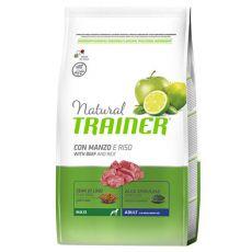 Trainer Natural Adult Maxi, marhahús és rizs, 3 kg