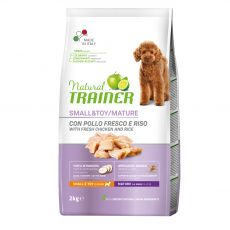 Trainer Natural Small & Toy Maturity csirke 2 kg