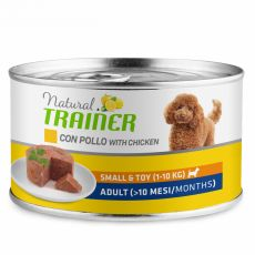 Trainer Natural Adult Small & Toy csirke 150 g