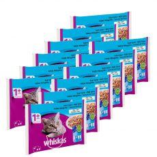 Whiskas halhúsos válogatás zselében 12 x (4 x 85 g)