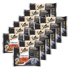 Sheba Selection szaftos alutasakos eledelek 12 x (4 x 85 g)