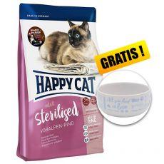 Happy Cat Sterilised Voralpen Rind / Marha 4 kg