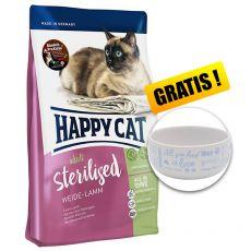 Happy Cat Sterilised Weide Lamm / Bárány 4 kg