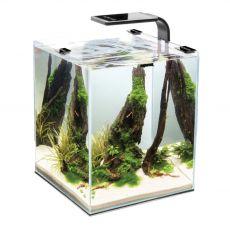 AQUAEL Shrimp Set Smart 10 D&N fekete 20 x 20 x 25 cm