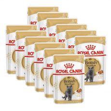 Royal Canin British Shorthair - alutasak, 12 x 85g