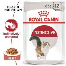 Royal Canin INSTINCTIVE 12 x 85g alutasakos macskaeledel