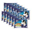 Alutasak macskáknak FELIX - halak zöldséggel zselében, 12 x 400 g