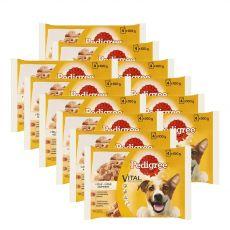 Pedigree alutasakos eledel marha-és szárnyashús zselében 12 x (4 x 100 g)