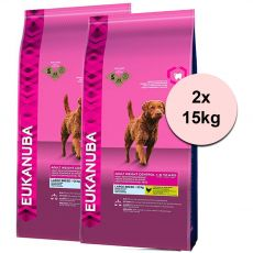 Eukanuba Adult Weight Control Large Breed 2 x 15 kg