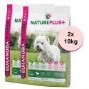 Eukanuba Nature Plus+ Adult Mini Rich in freshly frozen Lamb 2 x 10 kg