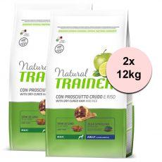 TRAINER Natural Maxi Adult szárított sonka 2 x 12 kg