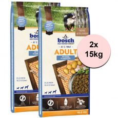 Bosch ADULT Fish & Potato 2 x 15 kg