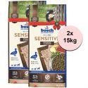 Bosch SENSITIVE Kacsa és burgonya 2 x 15 kg