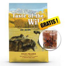 TASTE OF THE WILD High Prairie Canine 18,14 kg  + AJÁNDÉK