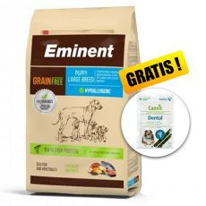 EMINENT Grain Free Puppy Large Breed 12 kg + AJÁNDÉK