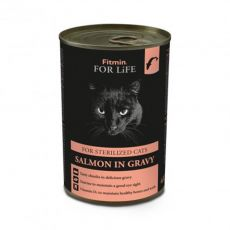 Fitmin Cat For Life Lazac 415 g