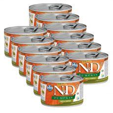 Farmina N&D dog Duck & Pumpkin konzerv 12 x 140 g
