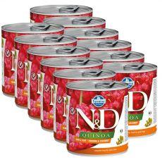 Farmina N&D dog Quinoa Herring & Coconut 12 x 285 g