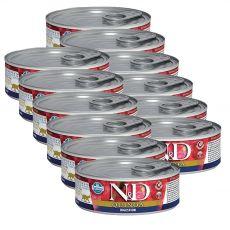 Farmina N&D cat Quinoa Digestion konzerv 12 x 80 g