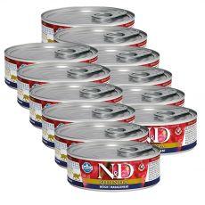 Farmina N&D cat Quinoa Weight Management konzerv 12 x 80 g