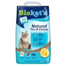 Biokat's Natural Fior di Cotone alom 5 kg
