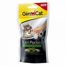 GimCat Nutri Pockets Macskagyökér és Multi-vitamin 60 g